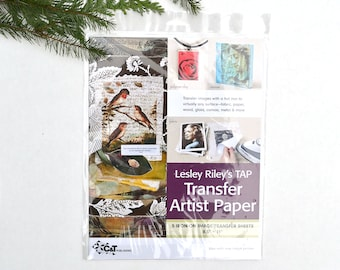 Lesley Riley TAP Paper - Transfer Paper - The BEST Transfer Paper Out There