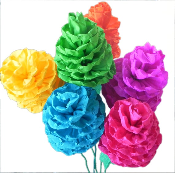 how to make crepe paper flowers for fiesta