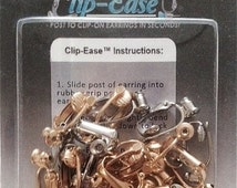 Clip On Earring Converter Kit. Turn Any Post Into A Clip On Earring! 4 Pack.