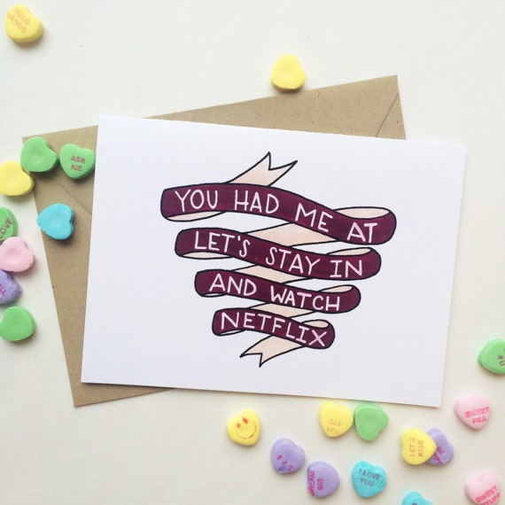 valentine's day gifts buzzfeed - Funny anniversary card long term relationship you had me