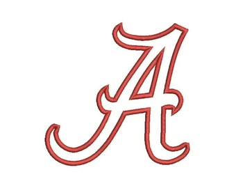 A Alabama Applique Embroidery Design