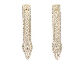 Antique Eduardian Arrow Earrings