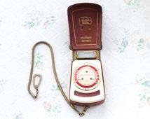 Zeiss Ikon Ikophot. Elegant 1950's Quality Light Meter - Made in Germany