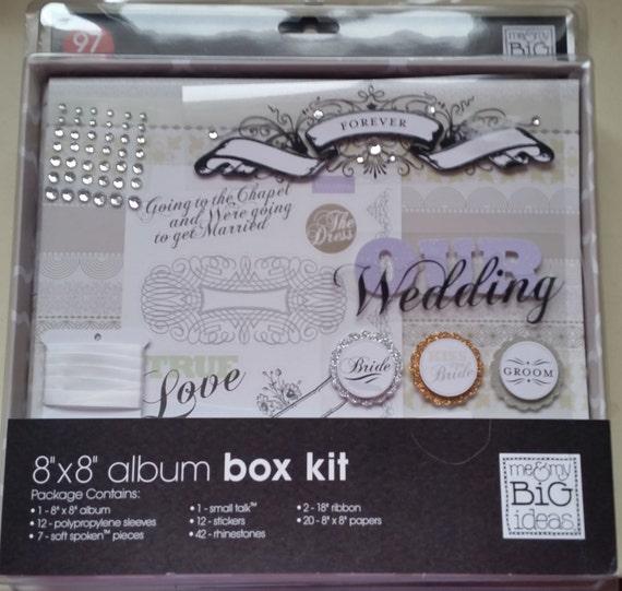 Wedding Scrapbook Album Wedding Scrapbook Album Kit