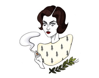 Audrey Horne 8x10 Print