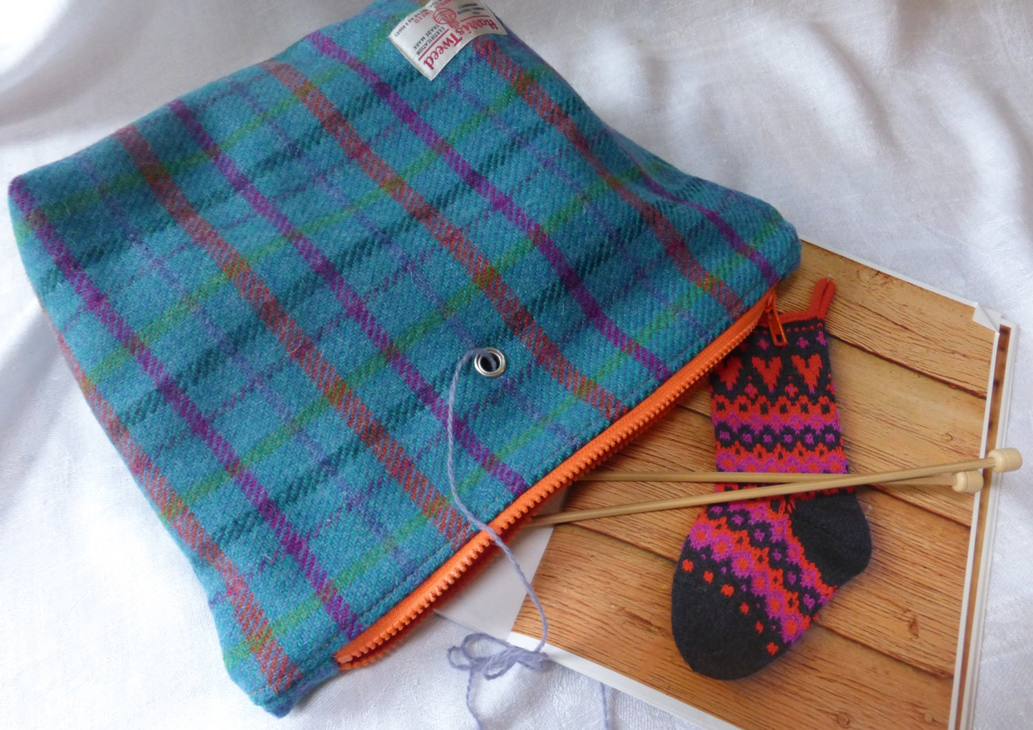 Knitting Project Bags Uk : Knitting project bag