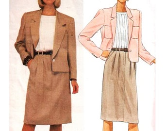 McCall's Sewing Pattern 9428 Misses' Jacket, Skirt, Blouse  Size:  12  Uncut