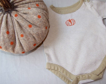 Upcycled Autumn Onesie