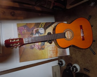 Kingston C-50 classical guitar VG condition