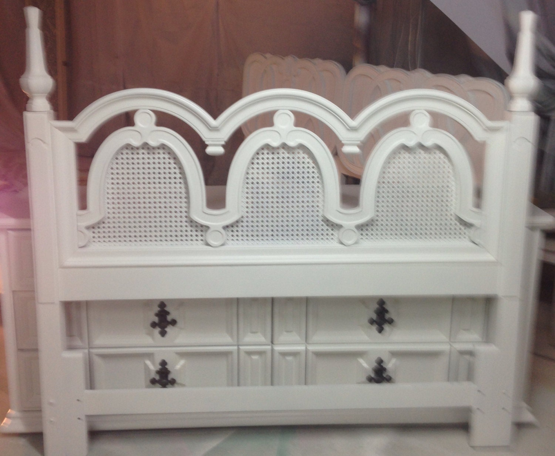 White Queen Wood Headboard White Headboard Queen White: Queen Headboard White Woven And Wood. Queen By Dianemarieshome