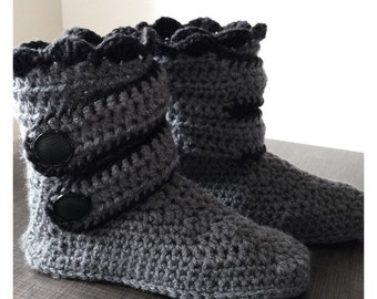 Slippers style boots