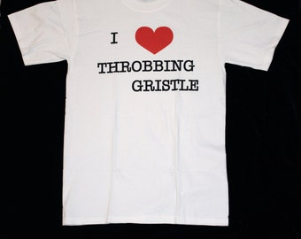 I heart Throbbing Gristle T-shirt