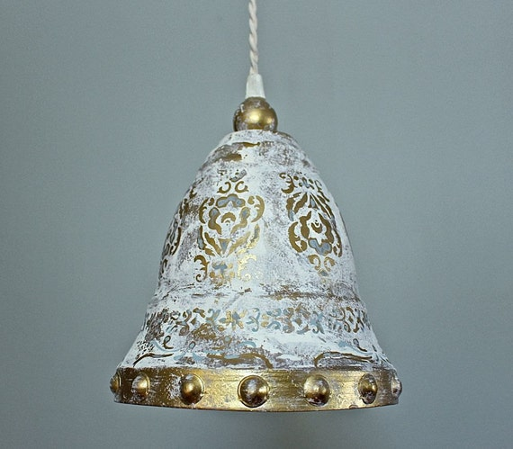 Ceiling Light Hanging Pendant Nautical Bell By Mysecretlite
