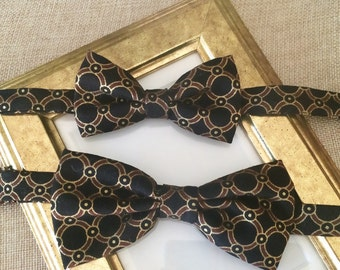 Father and Son Matching Bow Tie Set, Custom Bow Tie Order
