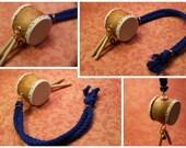 Mini Taiko Drum Key Chain.