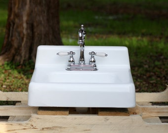 Items similar to refinished mid century modern wall mount Mid century modern bathroom faucets