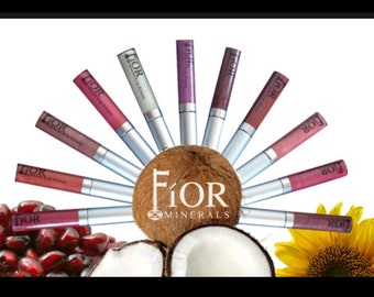 Organic Vegan Lip Gloss ~ Gluten Free All Natural Mineral Lip Gloss Soy Free Lip Gloss