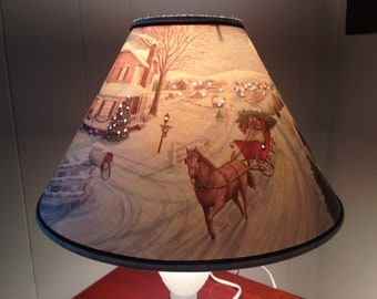 Popular Items For Christmas Lamp Shade On Etsy