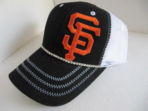 sf hat giants hat trucker hat giants hat sf by theapicellaedge