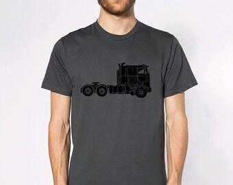 KillerBeeMoto: Tractor Trailer Big Rig Semi-Truck Short & Long Sleeve Shirt
