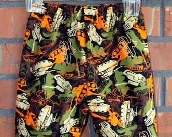 Children's - Camo Tanks Lounge Shorts