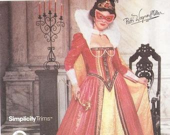 Simplicity 9832 Misses' Elizabethan Costume Pattern