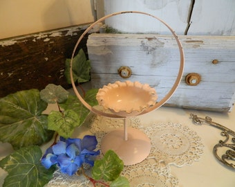 Vintage Miniature Potted Plant Stand