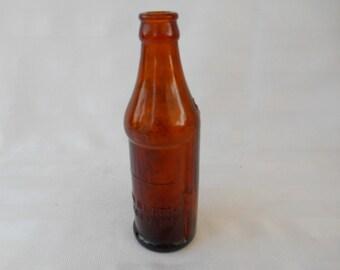Brown Certo Glass Bottle Vintage
