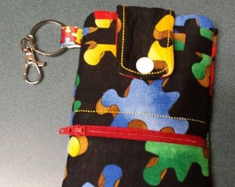 Autism Awareness Phone Wallet. Show your support order yours today!