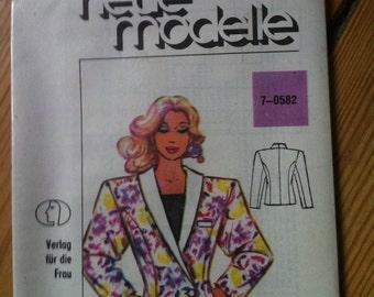 80s pattern jacket