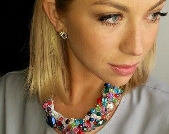 Nastassia's Bejeweled Necklace