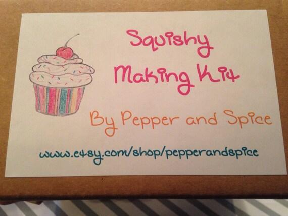 Squishy Maker Kit : DIY Squishy Making Kit by PepperAndSpice on Etsy