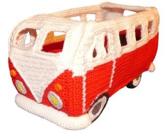 Crochet Pattern (012): Camper Cabrio