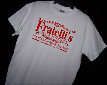 THE GOONIES FRATELLIS Restaurant T Shirt