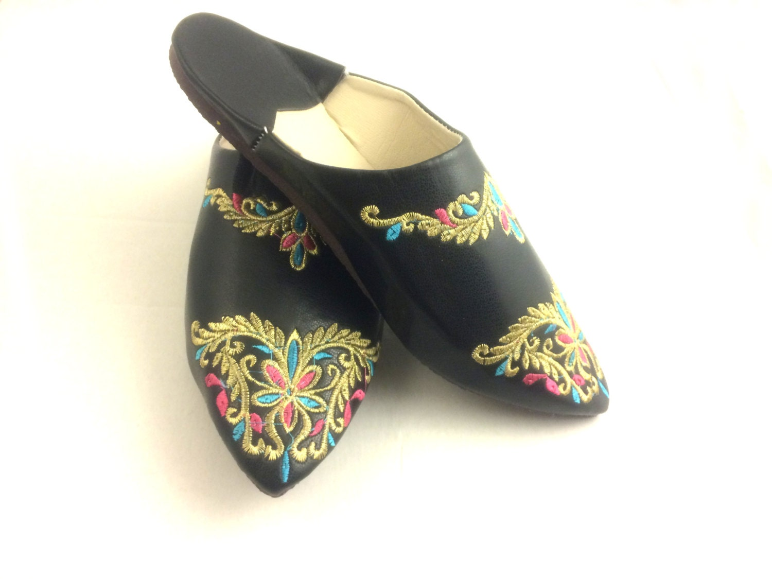Moroccan Slipperswomen Slipperswomen By Marrakechboutique On Etsy