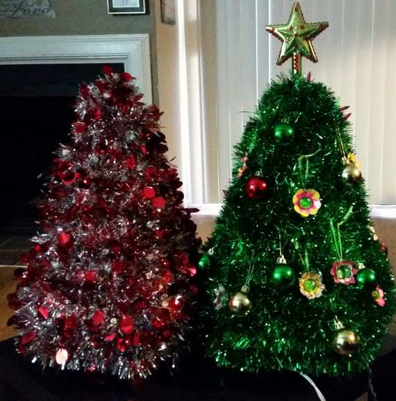 Items Similar To Table Top Christmas Tree, Christmas Decor