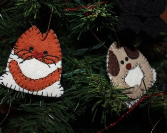 Snow Family Christmas Ornaments