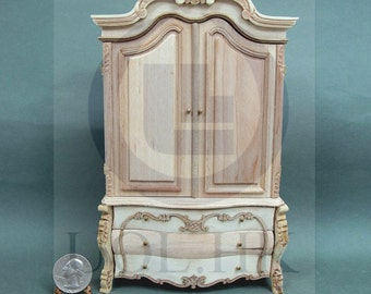 """Doll House Miniature 1:12 Scale The """"Escala"""" Baby House [Unpainted]"""