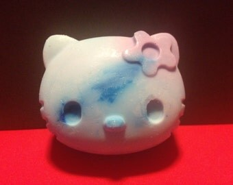 Kitty soap. Glycerin soap. Kids soap. Handmade soap