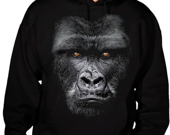 New 3D Gorilla black Hoodie All size S-3XL