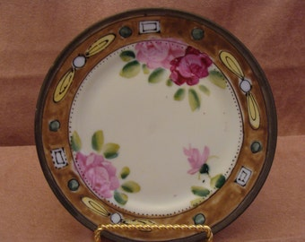 Nippon Decorative Hand Painted Plate