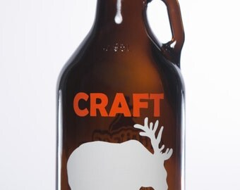 32 oz Craft Beer Growler