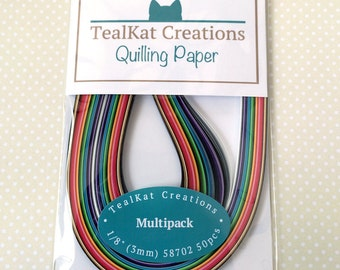 Multipack Variety Quilling Paper