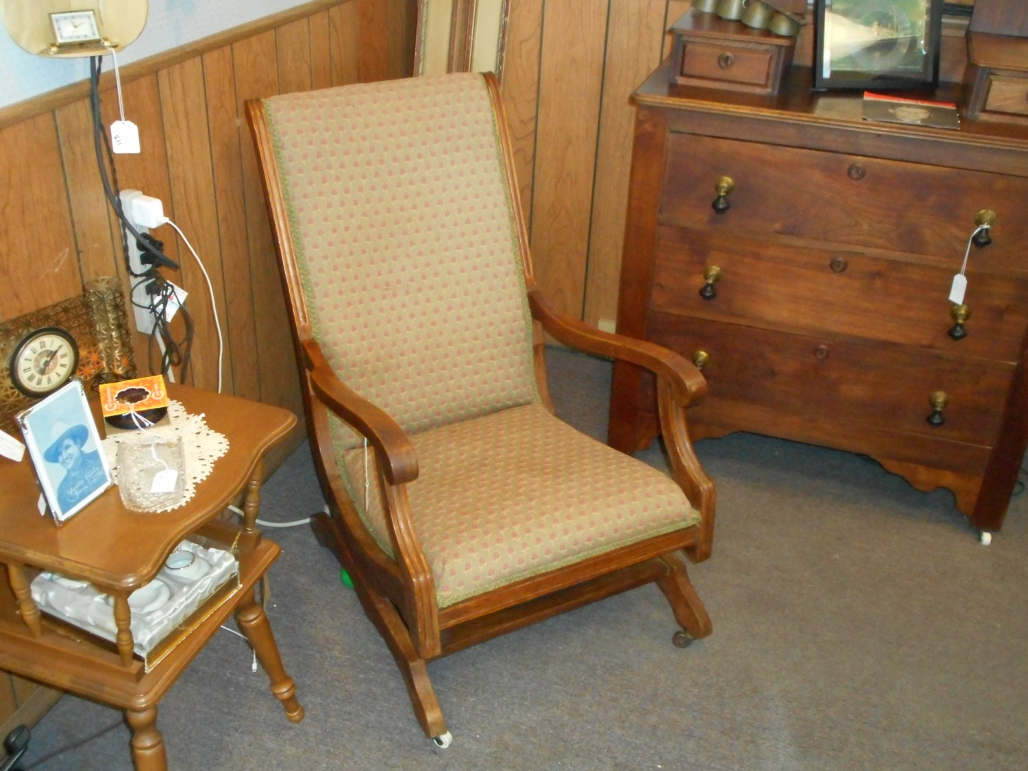 Antique rocking chair very comfortable by neighborhoodresale - Rocking chair comfortable ...