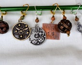 Airship Captain Crochet Stitch markers