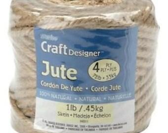 Jute Rope, Jute Cord, Natural Fiber Rope, Jute Cord Rope, Burlap String Cording