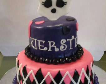 Monster High Cake Toppers