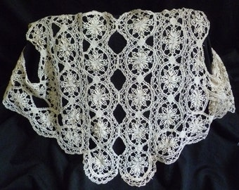 Vintage lace bodice and sleeve pieces.  For making a gown or costume