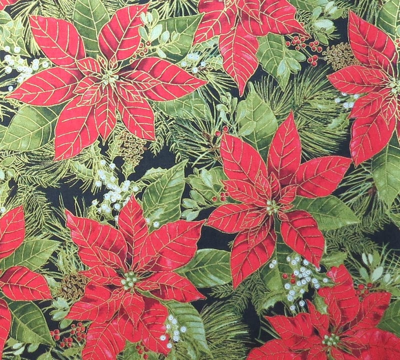 Sale woodland christmas fabric half yard or by the yard for Cloth for sale by the yard