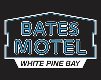 Bates Motel Travel Souvenir Vinyl Decal Sticker